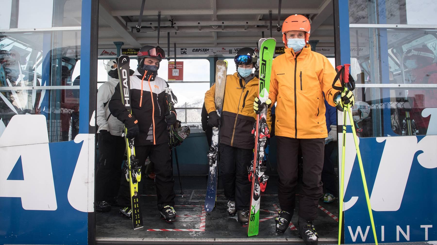 Darf offen bleiben: Das Skigebiet von Airolo – hier bei der Eröffnung der diesjährigen Saison am 12. Dezember.