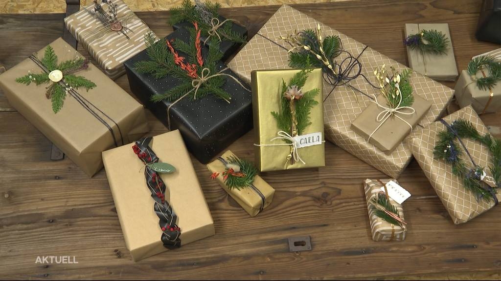 So packt man Weihnachtsgeschenke am schönsten ein