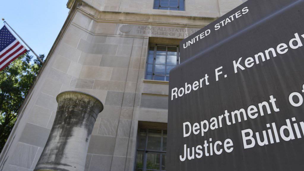Steuerstreit: Das Departement of Justice in Washington gab eine weitere Einigung mit einer Schweizer Bank bekannt. (Archiv)