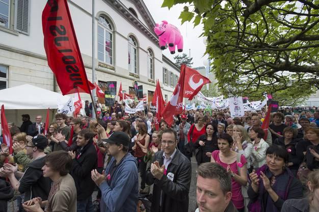 Erwartet werden rund 4000 Demonstranten, also mehr als an der letzten Lehrerdemo vor zehn Jahren.