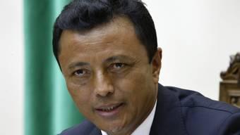 Madagaskars Ex-Präsident Marc Ravalomanana im Jahr 2009