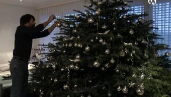 Der pompöse Weihnachtsbaum von Max Wächter aus Villnachern