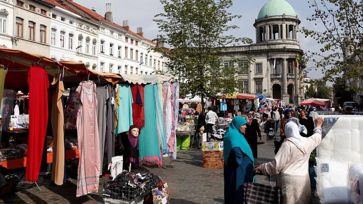 Auf dem Markt in Molenbeek: Wie tickt das Viertel, aus dem drei der vier Attentäter des 22. März kamen und 47 Jugendliche nach Syrien gingen?