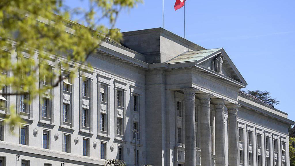 Das Bundesgericht musste sich nochmals über ein eigenes Urteil zu Uno-Sanktionen beugen. (Archiv)