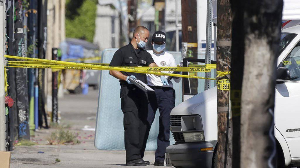 Der Tatort in Las Vegas, an dem ein Vater drei seiner Kinder umgebracht haben soll.