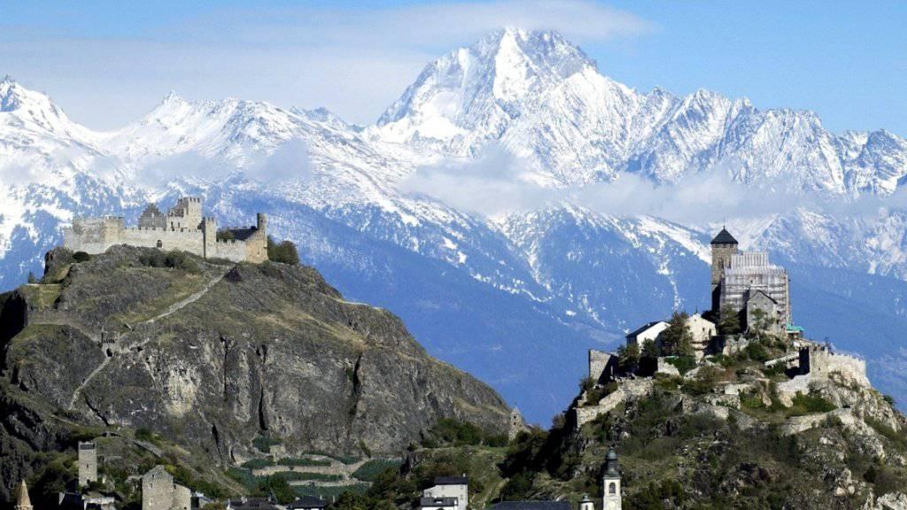 Die Kantone Waadt und Wallis haben sich auf Sitten als Austragungsort für die gemeinsame Kandidatur für die Olympischen Winterspiele 2026 beworben. (Archivbild)