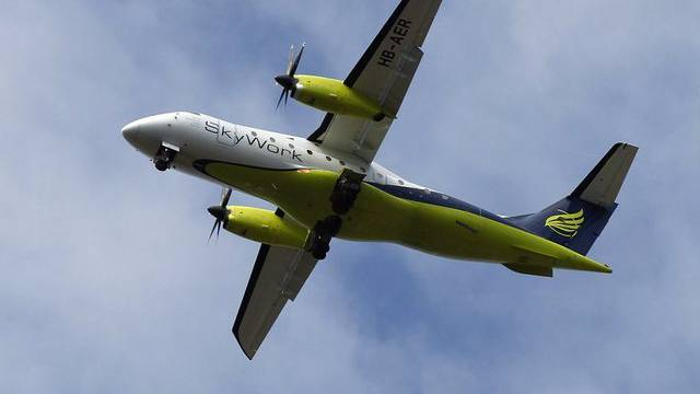 Starker Nebel macht der Fluggesellschaft Skywork zu schaffen (Archiv)