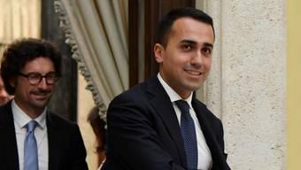 Luigi Di Maio, Chef der Fünf-Sterne-Bewegung, will mit den Sozialdemokraten über eine mögliche Regierungskoalition sprechen.