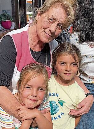 Pilgermutter Pilar hat Besuch aus der Schweiz.