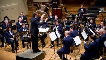 Am Winterkonzert konnte die Stadtmusik ihre Stärken voll ausspielen.  hansjörg sahli