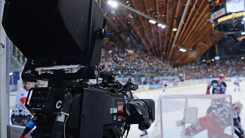 SRF baut Berichterstattung zum Fussball und Eishockey aus