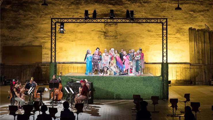 Hier wird alles zu Theater: Beethovens Musik, die Bewegungen der Musiker und sogar das Publikum.Andreas Zimmermann