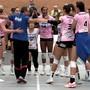 Die Volleyballerinnen von Sm'Aesch Pfeffingen feiern gegen Cheseaux einen ungefährdeten fünften Sieg im fünften Spiel.