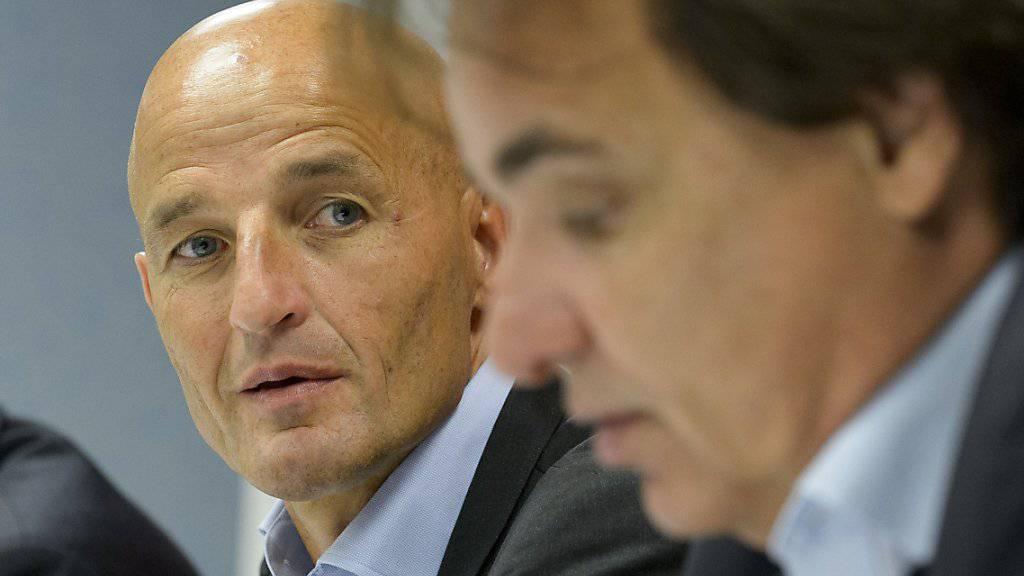 Peter Zeidler blickt seinem ersten Einsatz als Trainer des FC Sion entgegen
