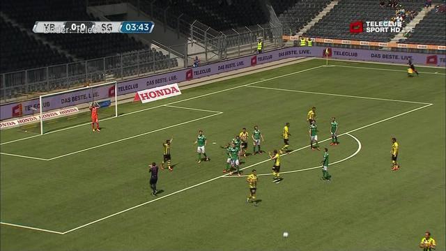 YB gegen St. Gallen
