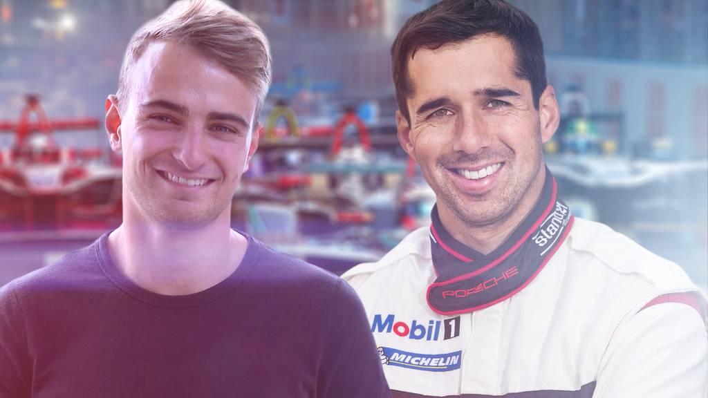 Zwei Berner Formel-E Piloten träumen vom WM-Titel