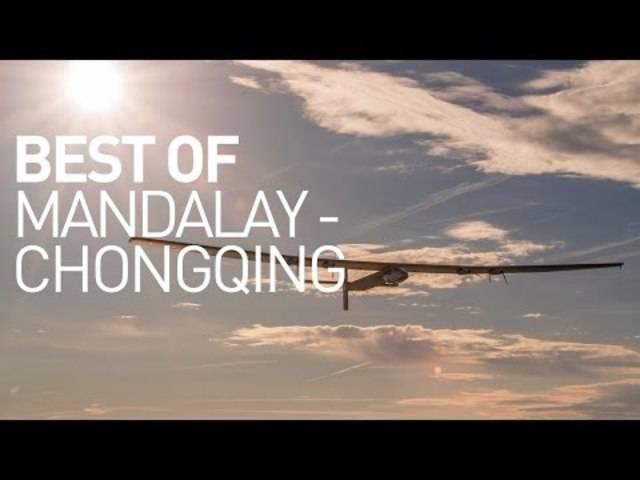 Solar Impulse: Die besten Bilder von der Etappe Myanmar - Chongqing.
