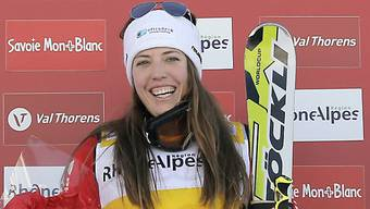 Katrin Müller hats als Zweite wieder aufs Podest geschafft.