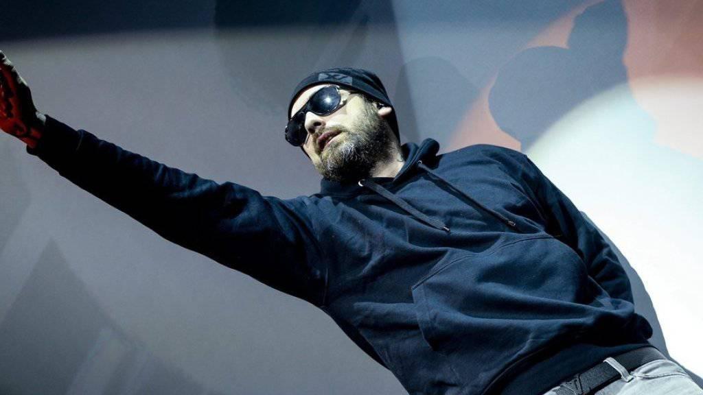 Hat vor der Sendung «Schlag den Raab» zu viel gebechert: Rapper Sido (Archiv).