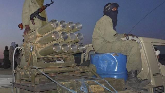 Tuareg-Kämpfer (Archiv)