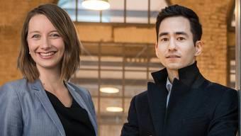 Yannick Berner und Christina Bachmann-Roth setzen sich beide für den Vaterschaftsurlaub ein.