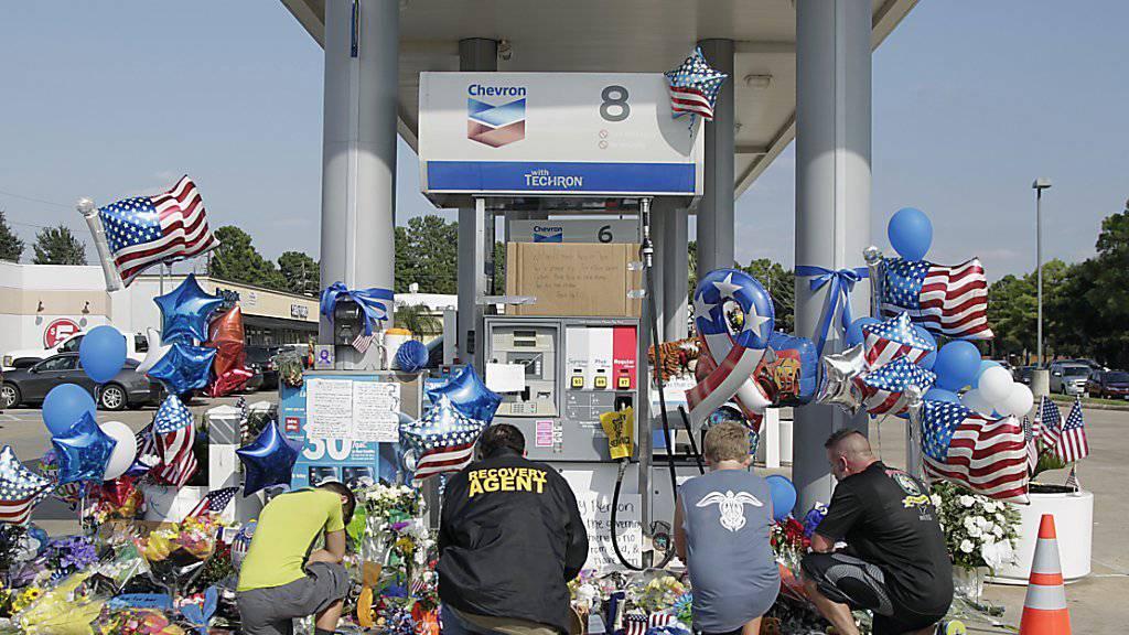 Tatort Tankstelle: Vizesheriff im US-Bundesstaat Texas getötet