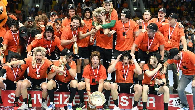 Einen Meistertitel gibt es in diesem Jahr im Handball nicht zu feiern