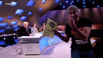 Freude bei Alain Boog: Er konnte die DSDS-Jury überzeugen und ist in der nächsten Runde.