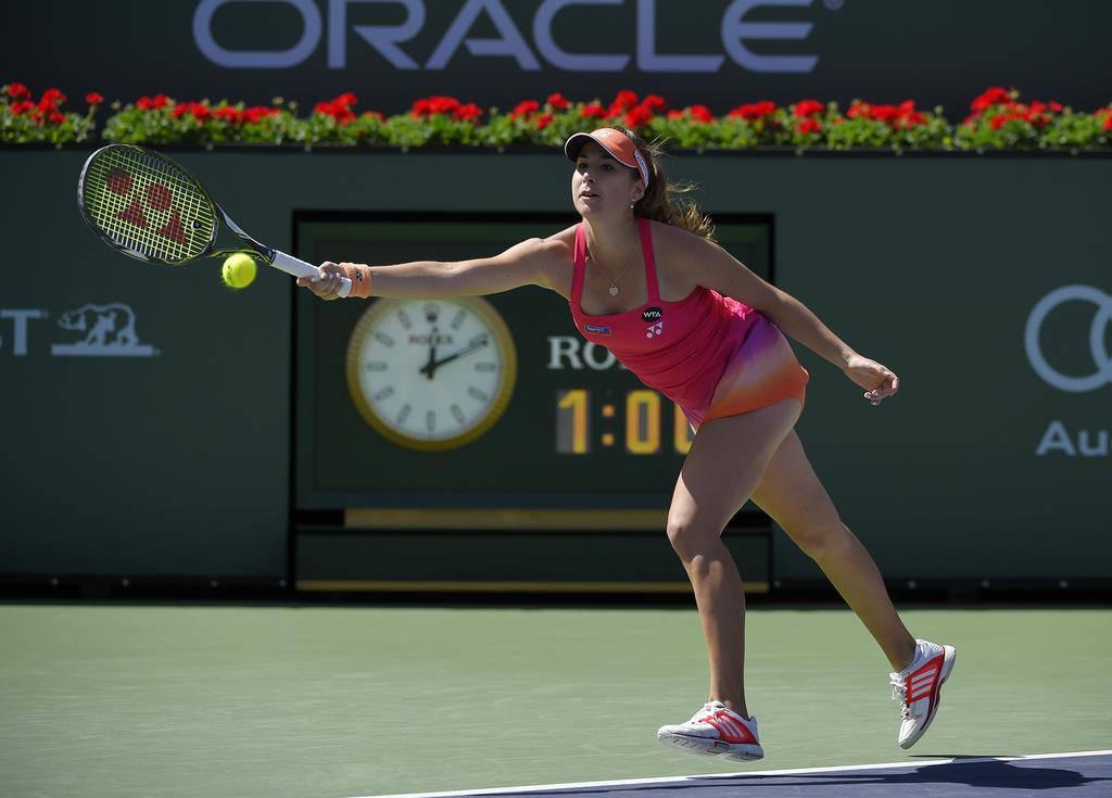 Belinda Bencic hat schon etliche Turniere gespielt und gewonnen (© Keystone)