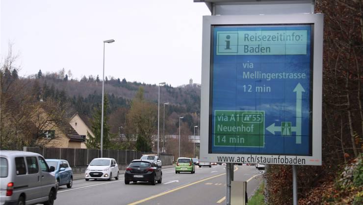 Über Neuenhof dauerts länger. -rr-