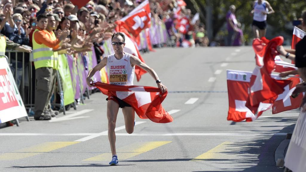 Viktor Röthlin fordert zur Lauf-Challenge heraus