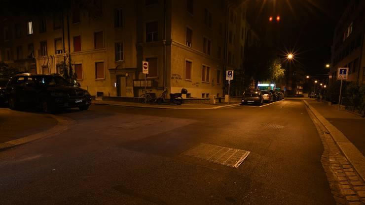 An der Verzweigung Landskronstrasse/Wattstrasse kam es zu einem Unfall.