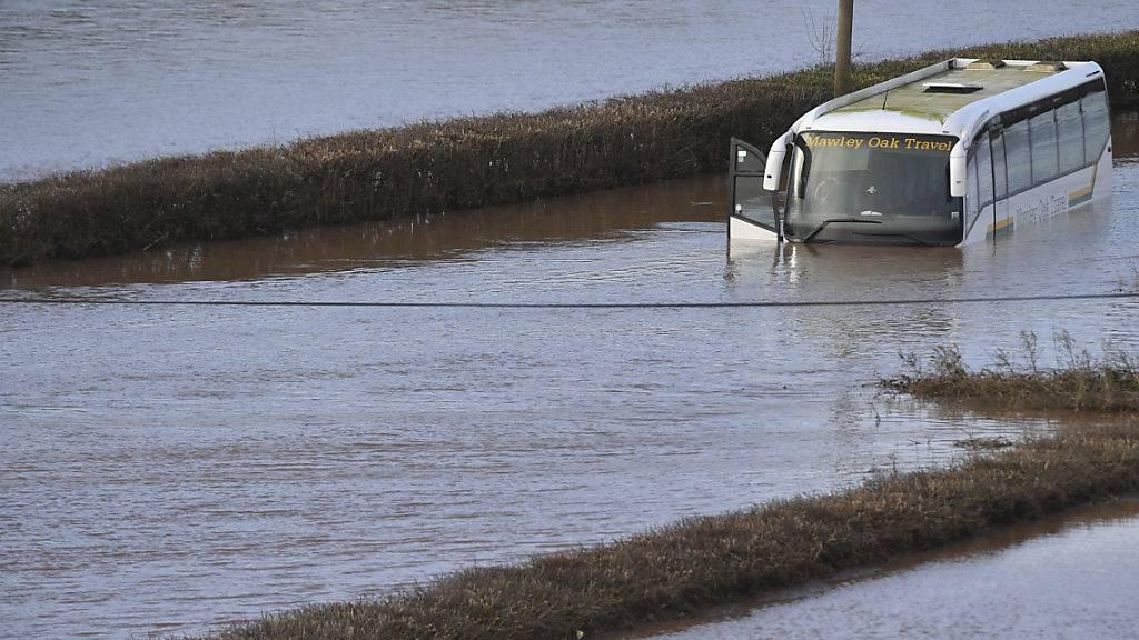 Keine Entwarnung bei Überschwemmungen in Grossbritannien