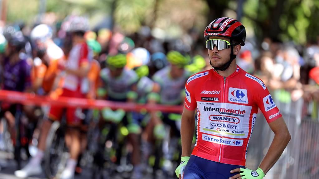 Kam nicht ganz mit der Spitze ins Ziel, bleibt aber weiterhin Leader der 76. Vuelta: der Norweger Odd Christian Eiking