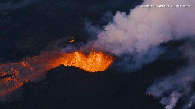 heiß wie ein vulkan