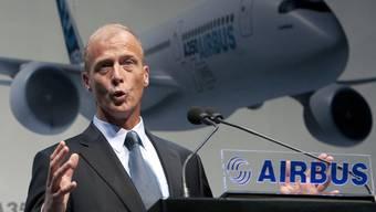 """Für Airbus-Chef Enders war 2010 """"ein ziemlich gutes Jahr"""", wie er sagt (Archiv)"""