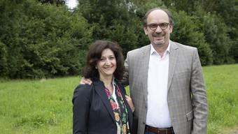 Das Ehepaar Ana und Samuel Behloul sind neu Gemeindeleiter und Seelsorger der Pfarrei St.Martin Entfelden.