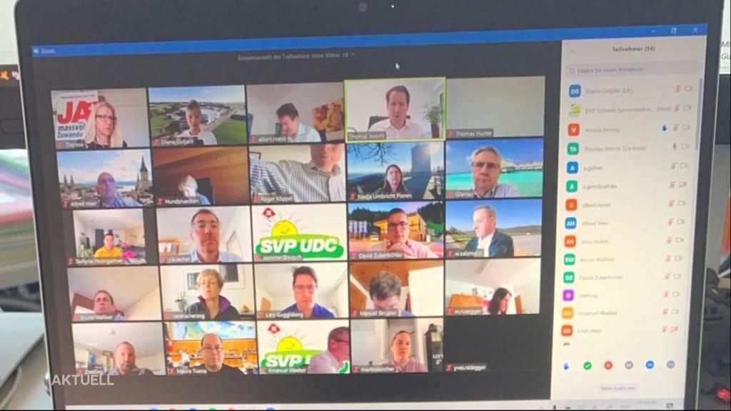 Sollen Politikerinnen und Politiker für Videokonferenzen weniger Sitzungsgelder erhalten?