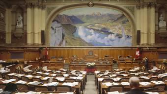 Am Nachmittag beginnt im Nationalrat die Sondersession. Sie dauert bis am Mittwoch. (Archivbild)