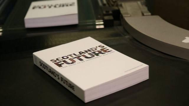 """Publikation des """"Weissbuches"""" in Schottland (Archiv)"""