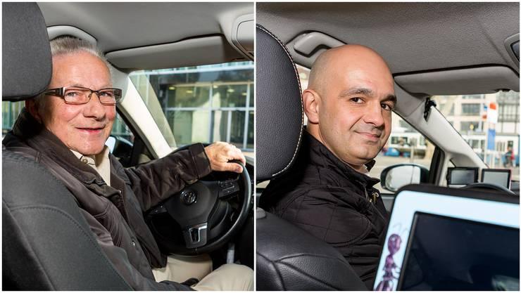 Uber-Fahrer Walter und Taxifahrer Srdjan Velickov