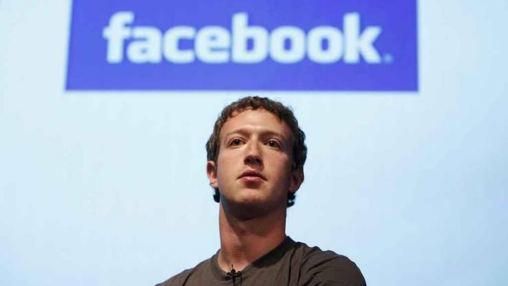 Facebook-Mitgründer Mark Zuckerberg