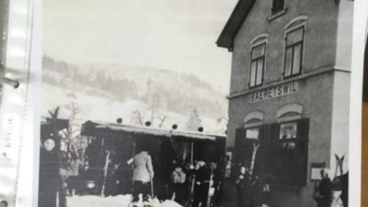 Wie zu früheren Zeiten: Am Sonntag fährt ein historischer Zug von Winterthur nach Bäretswil.