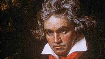 Beethoven beim Komponieren. Getty
