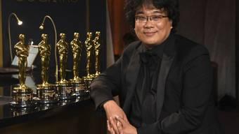 Der südkoreanische Regisseur Bong Joon Hot ist grosse Gewinner der Oscar-Verleihung 2020.