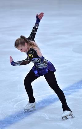 Schweizer Meisterschaften Nachwuchs Maria-Luisa ERDIN