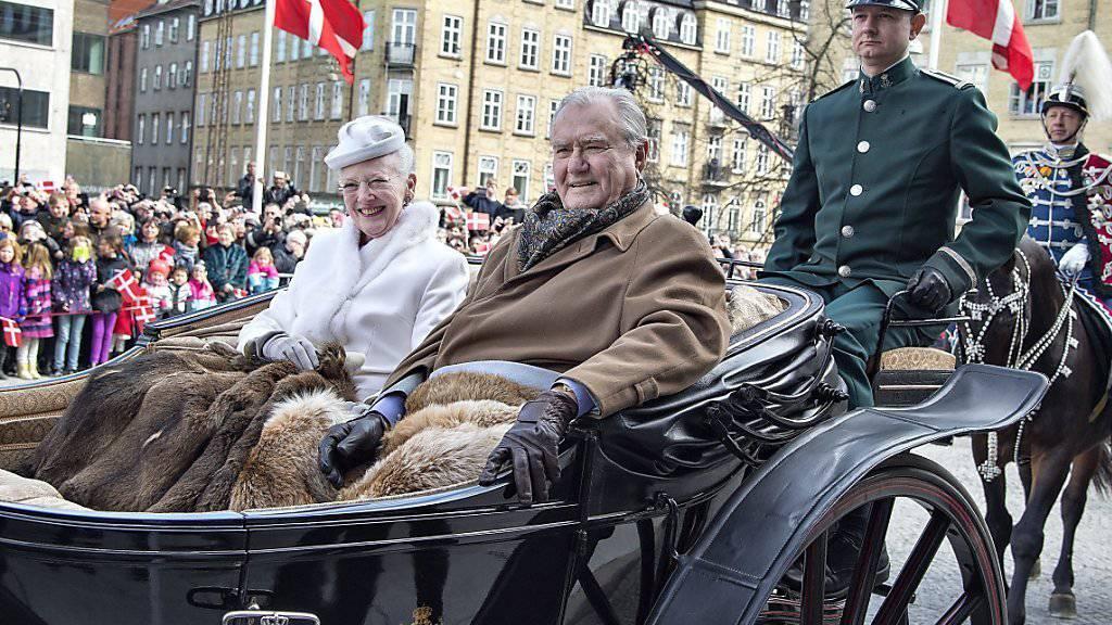 Königin Margrethe und Prinz Henrik (Archiv)
