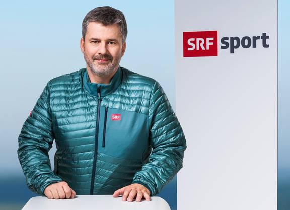 Beat Sprecher: Kommentator Biathlon, Curling, Eishockey, Nordische Kombination, paralympische Sportarten
