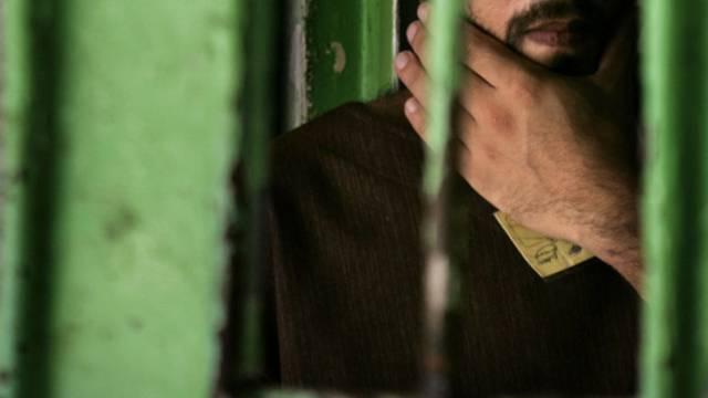 Ein palästinensischer Gefangener (Symbolbild)