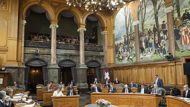 Der Ständerat kommt den Geberkantonen entgegen. In den Jahren 2016 bis 2019 sollen diese jährlich um 67 Millionen Franken entlastet werden (Archiv)